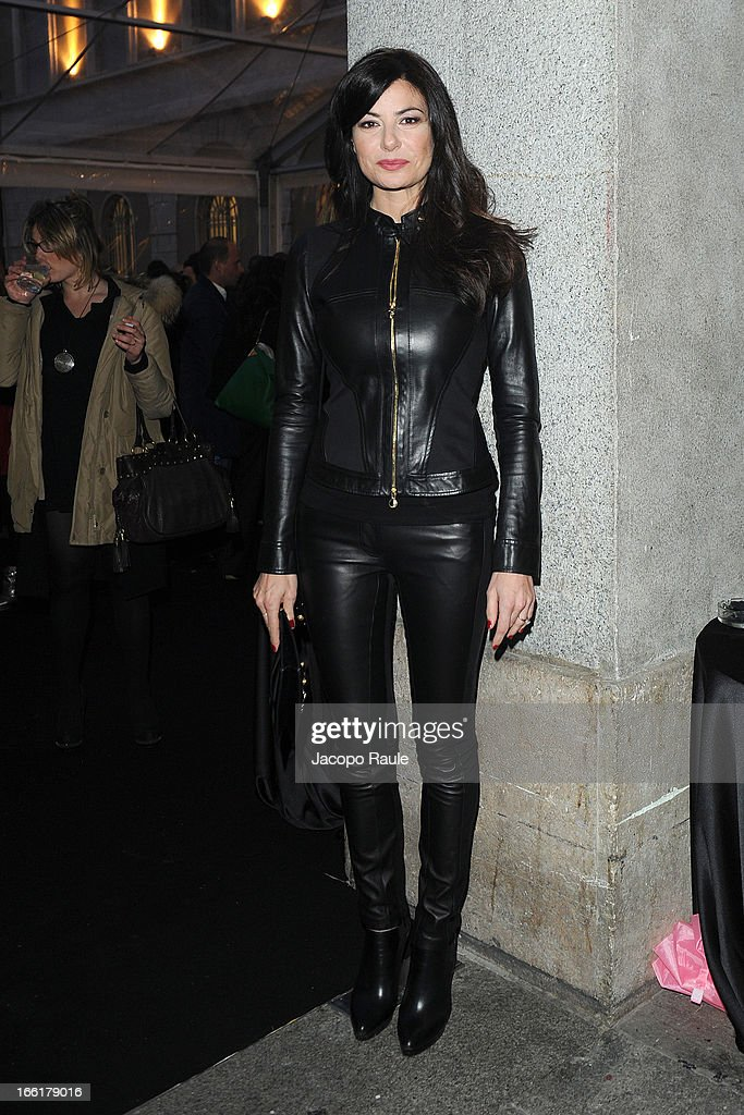 Ilaria D'Amico attends The Haas Bothers For Versace Home during 2013 Milan Design Week on April 9, 2013 in Milan, Italy.