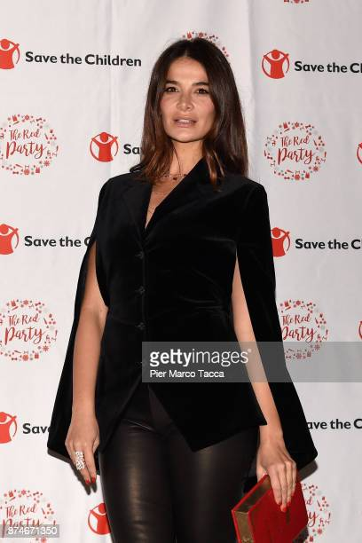 Ilaria Spada attends Save The Children Charity Party on November 15 2017 in Milan Italy