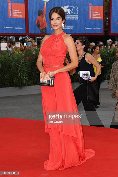 Ilaria Spada attends the closing ceremony of the 73rd Venice Film Festival at Sala Grande on September 10 2016 in Venice Italy