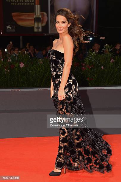 Ilaria Spada attends the premiere of 'Tommaso' during the 73rd Venice Film Festival at Sala Grande on September 6 2016 in Venice Italy