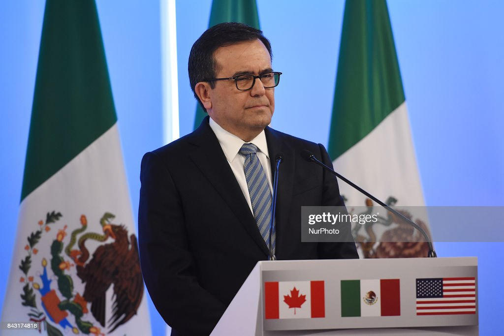 Second Round of NAFTA Negotiations in Mexico City