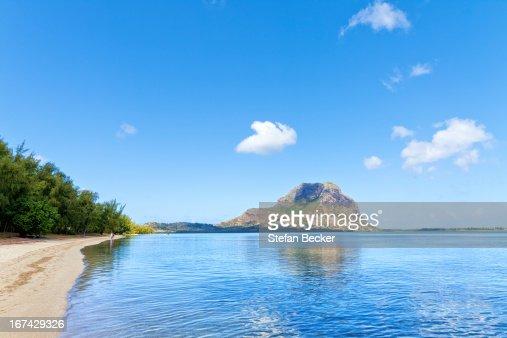 Ile aux Benitiers, Mauritius, Africa : Stock Photo