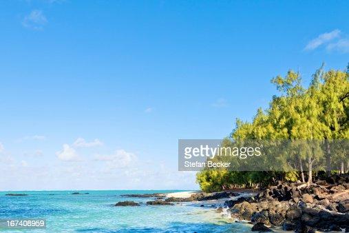 Ile aux Cerfs, Mauritius, Africa : Stock Photo