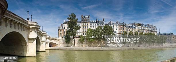 L'île de la Cité, Paris et Pont-Neuf