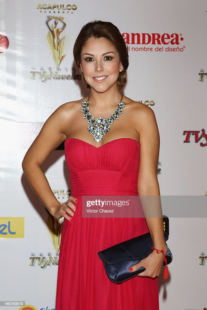 Ilean Almaguer attends the Premios Tv y Novelas 2014 at Televisa Santa Fe on March 23, 2014 in Mexico City, Mexico.