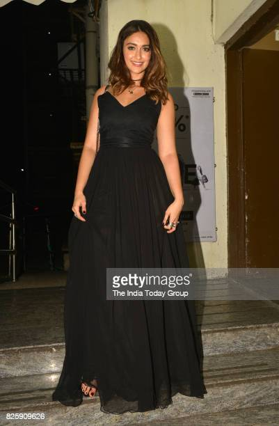Ileana D'Cruz during the screening of the film Mubarakan in Mumbai