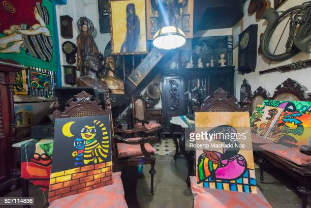 Ileana Sanchez and Joel Jover house The Cuban artists collect old objects and their house is a tourist attraction They use the visits for promoting...