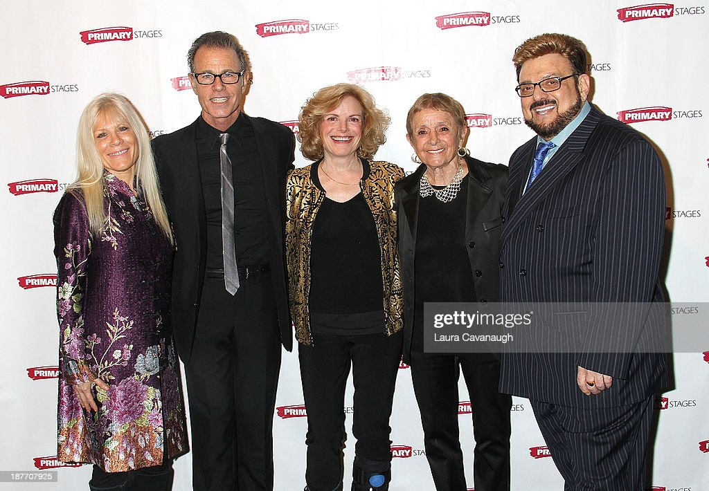 Ilene Kristen, Alan Paul, Carol Demas, Patricia Birch and Louis St. Louis attend the 2013 Primary Stages Annual Gala at The Edison Ballroom on November 11, 2013 in New York City.