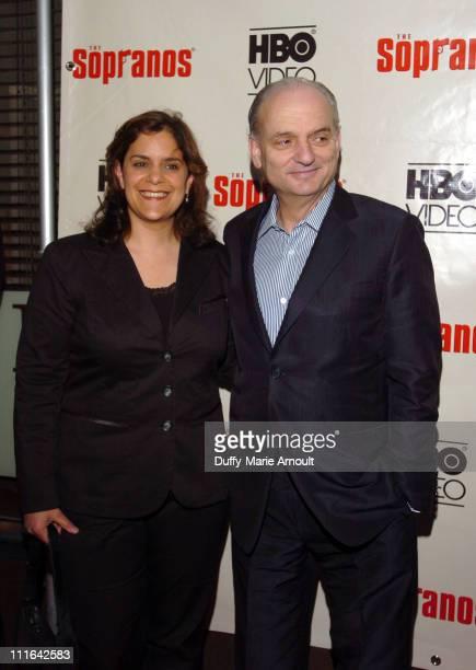 Ilene Landress executive producer and David Chase series creator