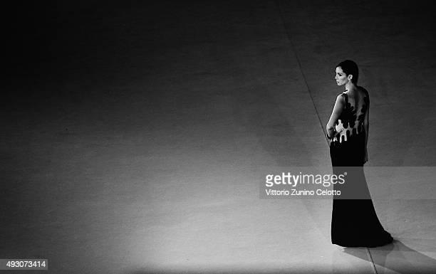 Ilenia Pastorelli attends a red carpet for 'Lo Chiamavano Jeeg Robot' during the 10th Rome Film Fest at Auditorium Parco Della Musica on October 17...