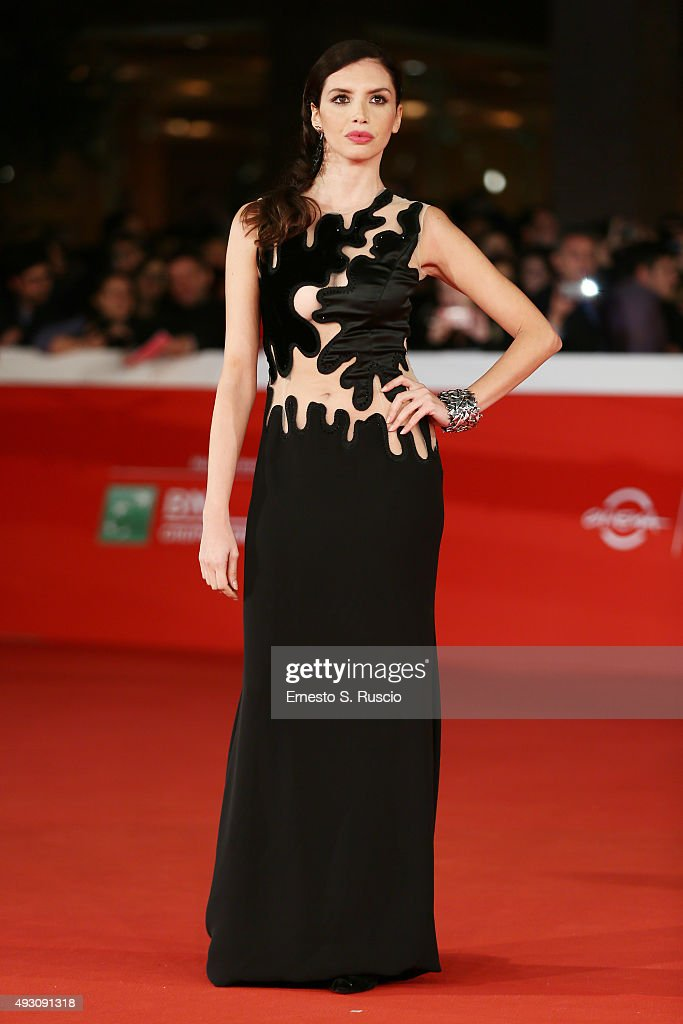 Ilenia Pastorelli attends a red carpet for 'Lo Chiamavano Jeeg Robot' during the 10th Rome Film Fest on October 17 2015 in Rome Italy