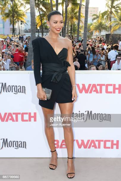 Ilfenesh Hadera attends Paramount Pictures' World Premiere of 'Baywatch'on May 13 2017 in Miami Florida
