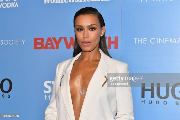 Ilfenesh Hadera attends The Cinema Society's Screening Of 'Baywatch' at Landmark Sunshine Cinema on May 22 2017 in New York City