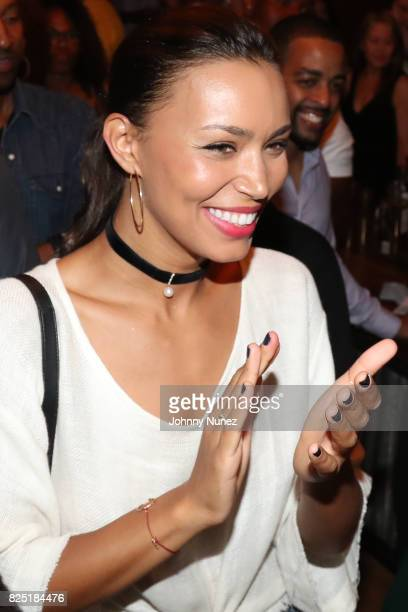 Ilfenesh Hadera attends the 'Come Up' With Margot Bingham And Cassie Freeman Podcast Launch on July 31 2017 in New York City
