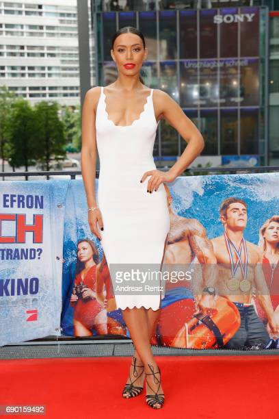 Ilfenesh Hadera poses at the 'Baywatch' Photo Call at Sony Centre on May 30 2017 in Berlin Germany