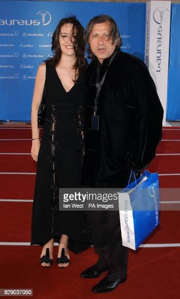 Ilie Nastase and guest arrive for the fifth annual Laureus World Sports Awards recognising top acheivers at Centro Cultural De Belem in Lisbon...