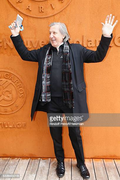 Ilie Nastase attends the 2016 French Tennis Open Day Three at Roland Garros on May 24 2016 in Paris France