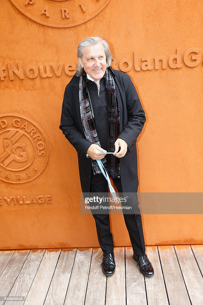 <a gi-track='captionPersonalityLinkClicked' href=/galleries/search?phrase=Ilie+Nastase&family=editorial&specificpeople=215468 ng-click='$event.stopPropagation()'>Ilie Nastase</a> attends the 2016 French Tennis Open - Day Three at Roland Garros on May 24, 2016 in Paris, France.
