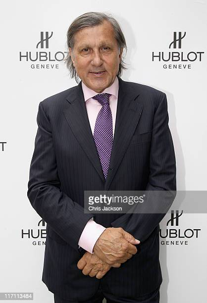 Ilie Nastase attends the Hublot store opening on New Bond Street on June 22 2011 in London England At the opening ceremony for the 36th Hublot...