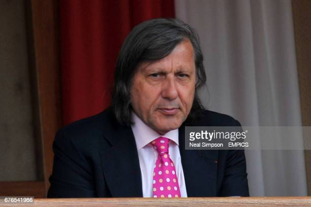 Ilie Nastase watches the action