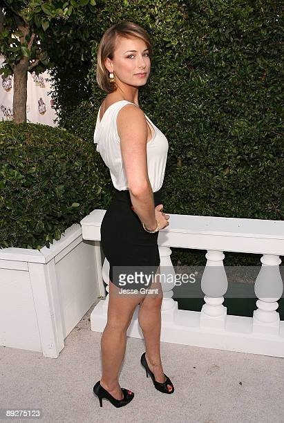 Iliza Shlesinger arrives on the red carpet of The Comedy Central Roast of Joan Rivers at CBS Studios Radford on July 26 2009 in Studio City California