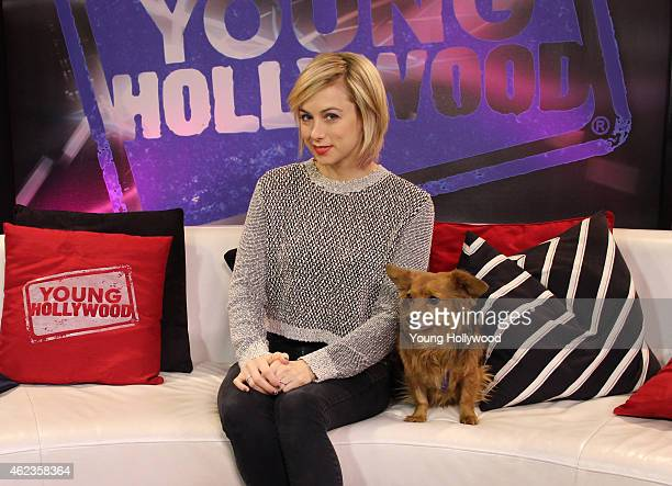 Iliza Shlesinger visits the Young Hollywood Studio on January 26 2015 in Los Angeles California