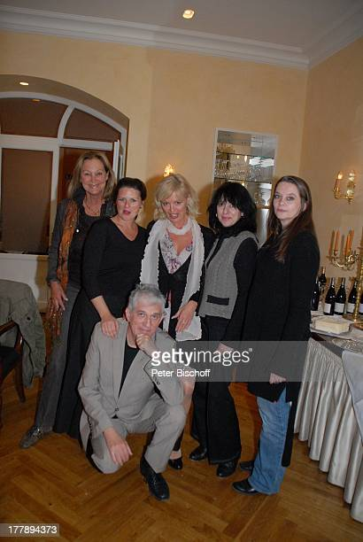 Ilja Richter Managerin Claudia Neidig Schwester Janina Richter Anja Hauptmann Barbara Ferun Susanne von Medley AftershowParty nach Premiere Tournee...