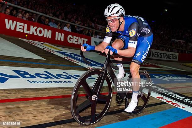 Iljo Keisse pictured during 'Ciao Fabian' An event to honour Fabian Cancellara's carreer In Kuipke Gent Belgium on Saturday november 12 2016