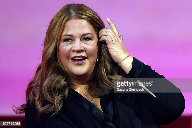 Ilka Bessin attends the television show 2016 Menschen Bilder Emotionen RTL Jahresrueckblick on December 4 2016 in Cologne Germany