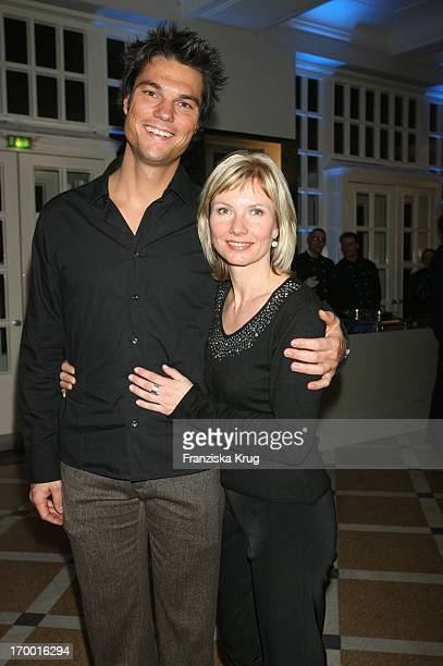 Ilka Essmüller And Husband Dr Boris Büttner At The Premiere Of Rtl twoparter 'The Flood 'The CurioHaus in Hamburg