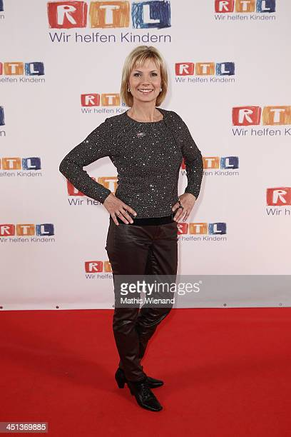 Ilka Essmüller attends the RTL Telethon 2013 on November 22 2013 in Cologne Germany