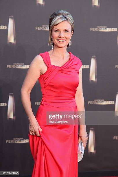 Ilka Essmueller attends the German TV Award 2011 at Coloneum on October 2 2011 in Cologne Germany