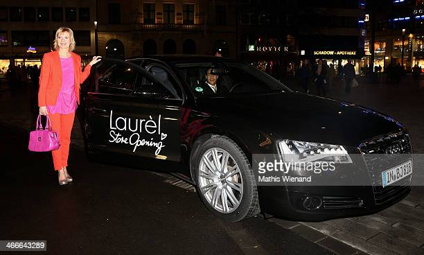 Ilka Essmueller attends the Laurel store opening on February 1 2014 in Dusseldorf Germany
