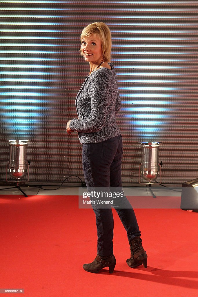 Ilka Essmueller attends the 'RTL Spendenmarathon' at RTL Studios on November 23, 2012 in Cologne, Germany.