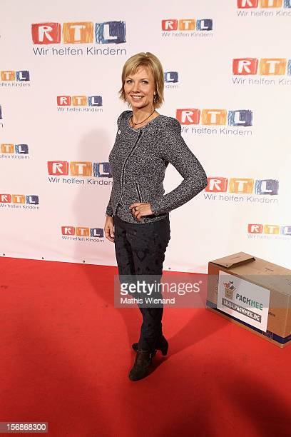 Ilka Essmueller attends the 'RTL Spendenmarathon' at RTL Studios on November 23 2012 in Cologne Germany
