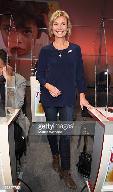 Ilka Essmueller attends the RTL Telethon 2014 on November 21 2014 in Cologne Germany