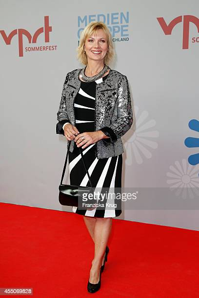 Ilka Essmueller attends the VPRT Hosts Summer Party at Cafe Moskau on September 09 2014 in Berlin Germany