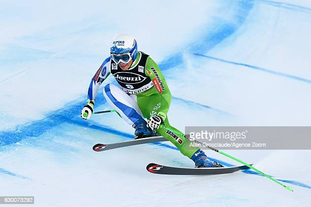 Ilka Stuhec of Slovenia competes during the Audi FIS Alpine Ski World Cup Women's Combined on December 16 2016 in Vald'sere France