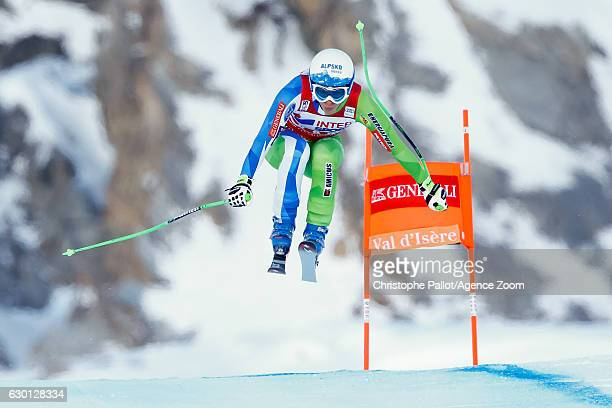 Ilka Stuhec of Slovenia competes during the Audi FIS Alpine Ski World Cup Women's Downhill on December 17 2016 in Vald'Isere France