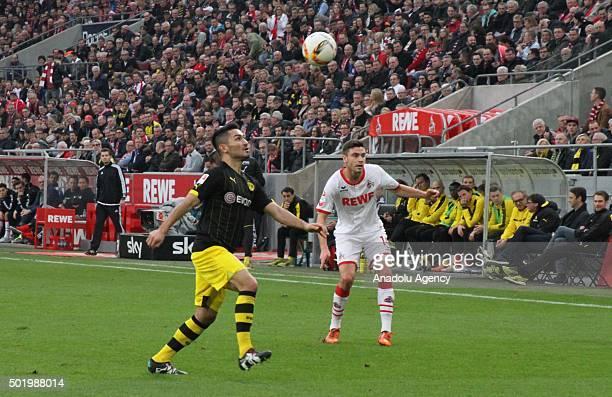 Ilkay Gundogan of Borussia Dortmund in action during the Bundesliga soccer match between 1 FC Cologne and Borussia Dortmund at Rhein Energie stadium...