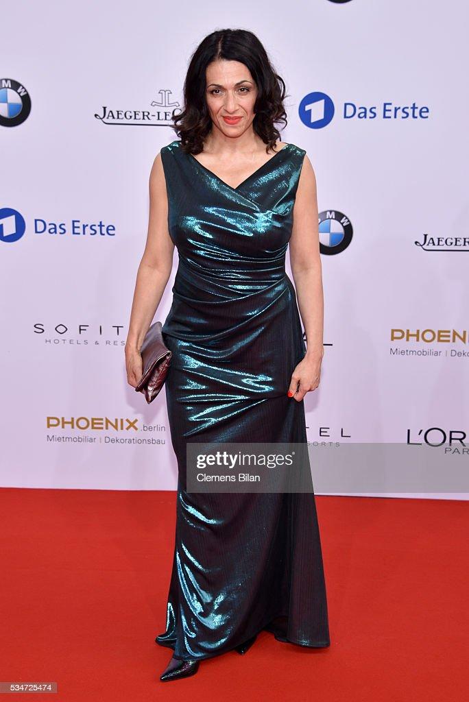 Ilknur Boyraz attends the Lola - German Film Award (Deutscher Filmpreis) on May 27, 2016 in Berlin, Germany.