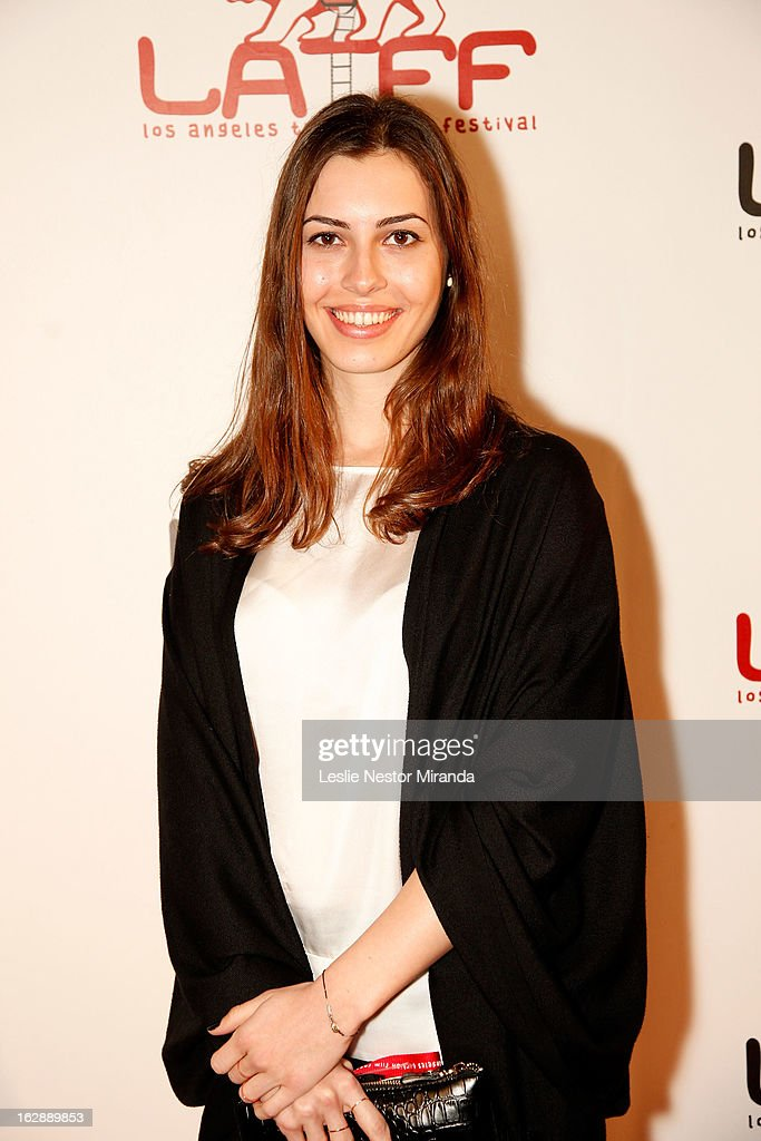 Ilkyaz Kocatepe attends The 2nd Annual Los Angeles Turkish Film Festival Opening Reception at the Egyptian Theatre on February 28, 2013 in Hollywood, California.