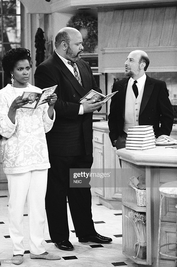 AIR -- 'Ill Will' Episode 18 -- Pictured: (l-r) Janet Hubert as Vivian Banks, James Avery as Philip Banks, Erick Avari as Cedric -- Photo by: Mike Ansell/NBCU Photo Bank