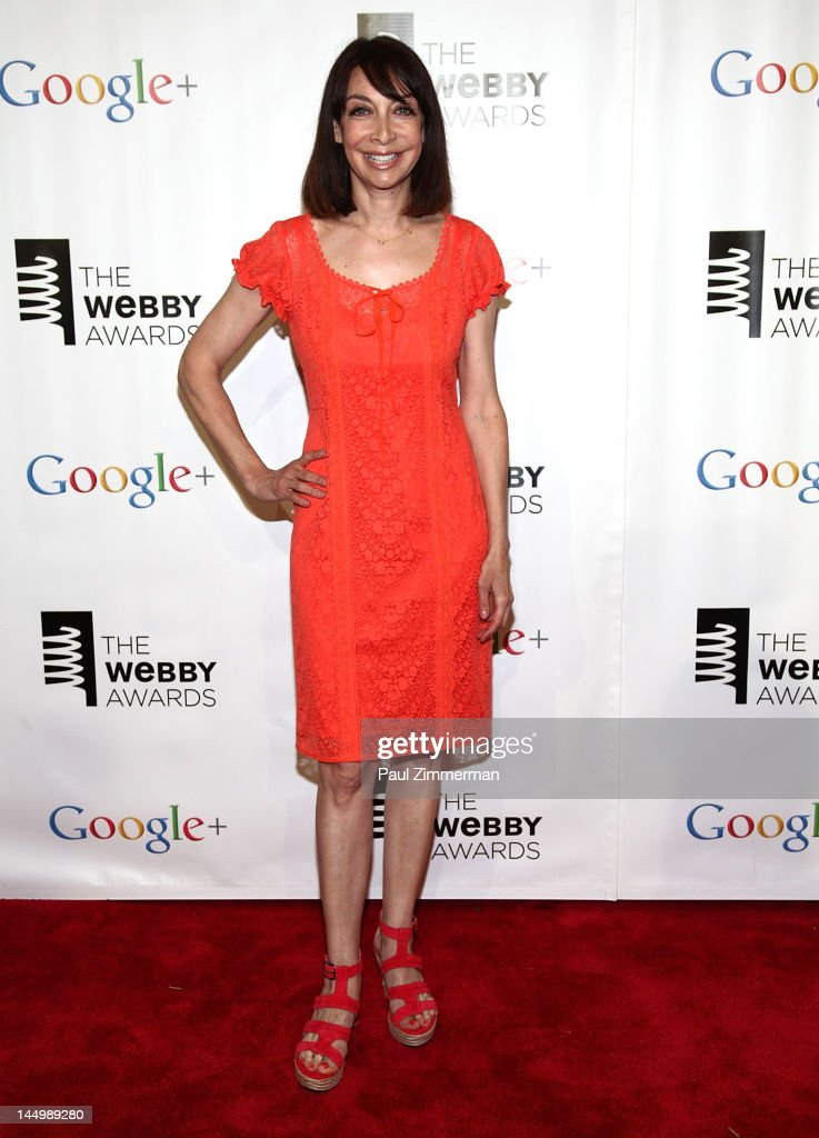 Illeana Douglas attends the 16th Annual Webby Awards at Hammerstein Ballroom on May 21, 2012 in New York City.