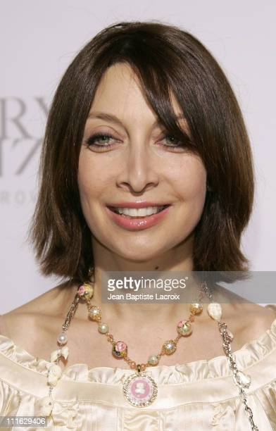 Illeana Douglas during Swarovski Runway Rocks LA Arrivals at ACE Gallery in Los Angeles California United States