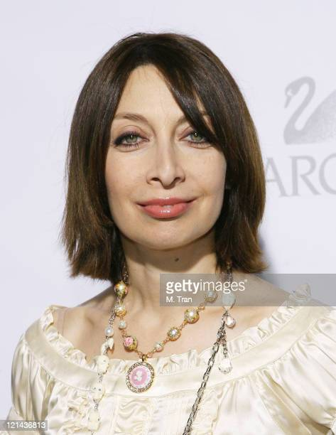 Illeana Douglas during Swarovski Sparkles During 2007 Oscar Week with Runway Rocks Arrivals at ACE Gallery in Beverly Hills California United States