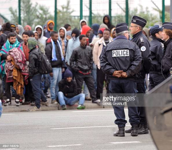 Latest News Illegal Immigrants: Illegal Immigrants Wait To Be Expelled From Their Camp At