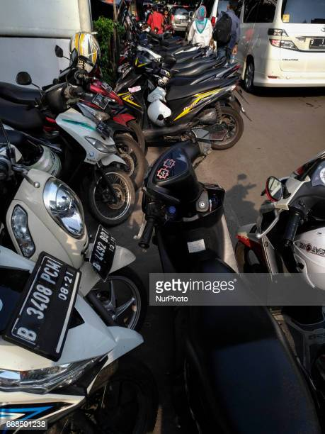 Illegal parking still happening at Thamrin City Jakarta on April 14 2017 Although there has bee serious action from Jakarta Administration but street...