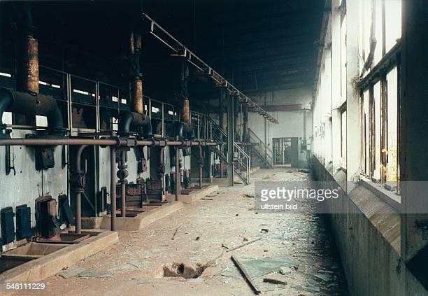 Illegales Militärgefängnis der Roten Armee in Roßlau Heizhaus der Kaserne in dessen Öfen auch tote Gefangene verbrannt worden sein sollen