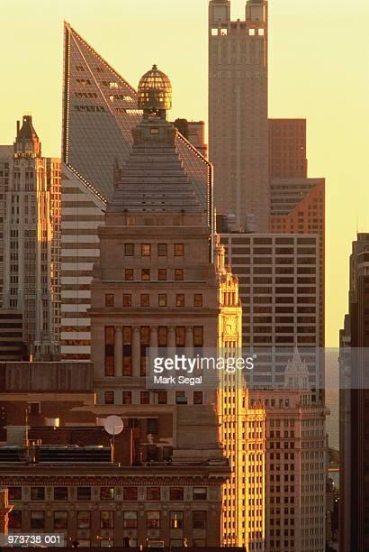 USA, Illinois, Chicago, buildings on Michigan Avenue